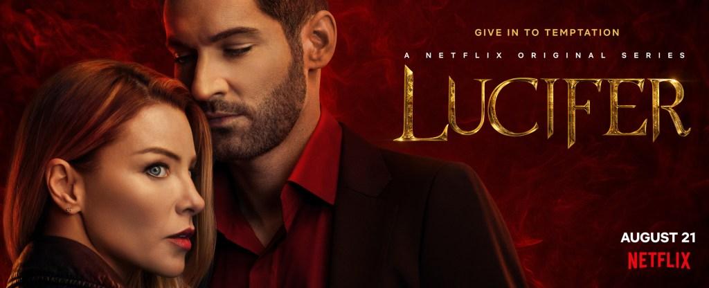 Póster de la temporada 5 de Lucifer en Netflix. Imagen: impawards.com