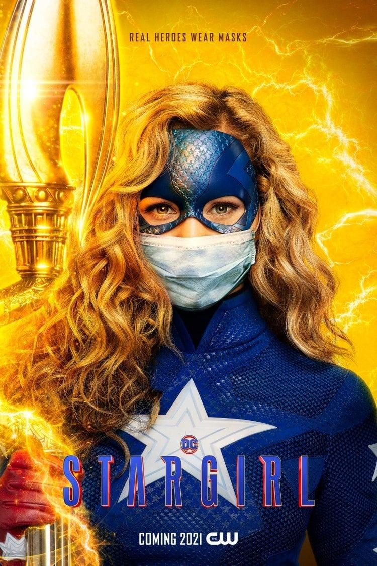 Stargirl (Brec Bassinger) en un póster de Stargirl. Imagen: impawards.com