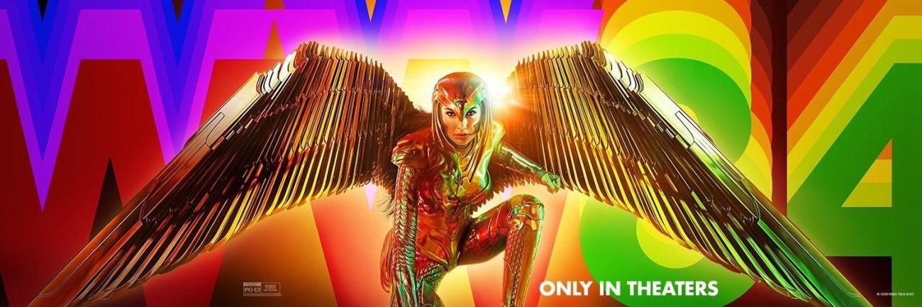 Arte promocional de Wonder Woman 1984 (2020). Imagen: impawards.com