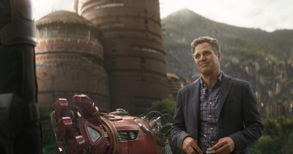 Mark Ruffalo como el Dr. Bruce Banner en Avengers: Infinity War (2018). Imagen: Marvel Studios