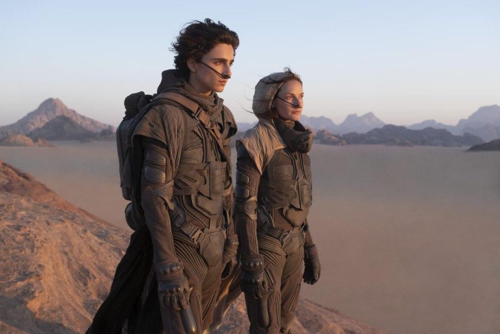 Timothée Chalamet como Paul Atreides y Rebecca Ferguson como Lady Jessica en Dune (2020). Imagen: IMDb.com