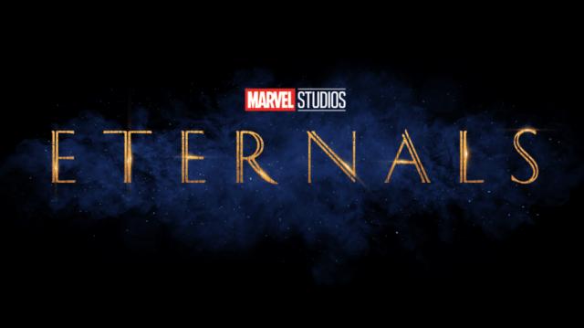 Logotipo de Eternals (2021). Imagen: Marvel.com
