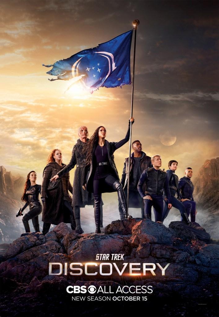 Póster de la temporada 3 de Star Trek: Discovery. Imagen: impawards.com