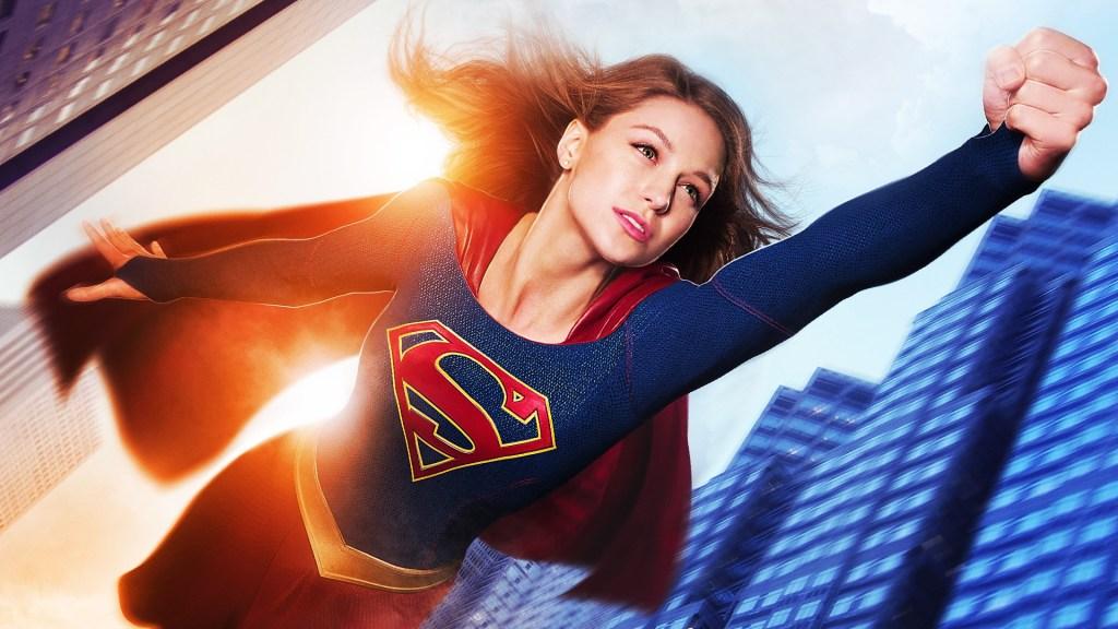 Melissa Benoist como Supergirl/Kara Zor-El/Kara Danvers en la temporada 1 de Supergirl. Imagen: fanart.tv