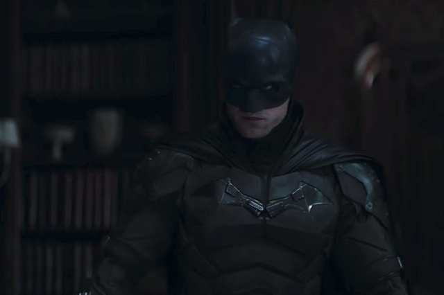 Batman (Robert Pattinson) en The Batman (2022). Imagen: listal.com
