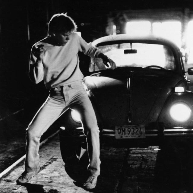 Ren McCormack (Kevin Bacon) en Footloose (1984). Imagen: Paramount/Kobal/Shutterstock