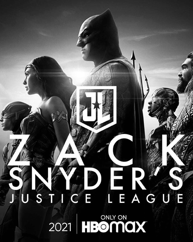 Póster de Zack Snyder's Justice League (2021). Imagen: impawards.com