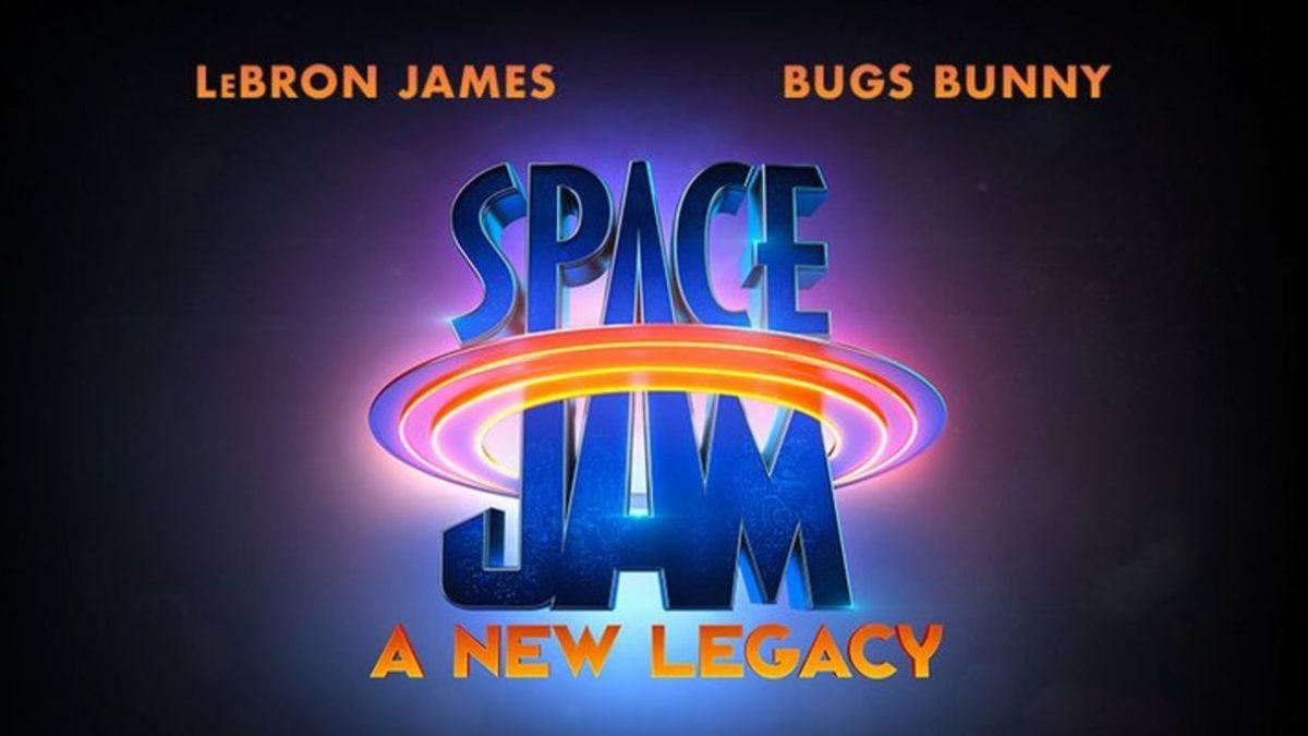 El logotipo de Space Jam: A New Legacy (2021). Imagen: Warner Bros. Pictures