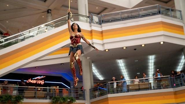 Wonder Woman (Gal Gadot) en Wonder Woman 1984 (2020). Imagen: fanart.tv