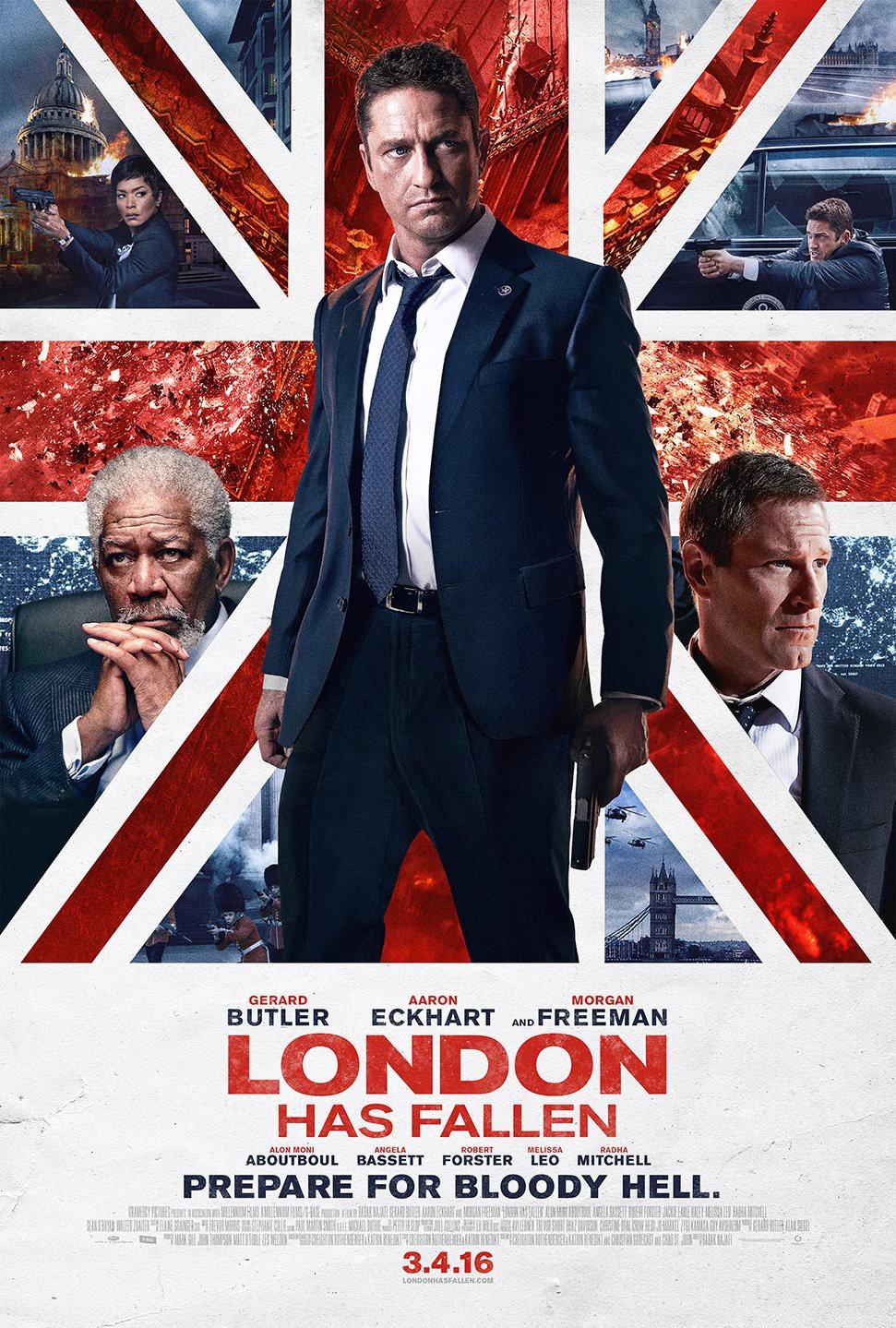 Póster de London Has Fallen (2016). Imagen: impawards.com