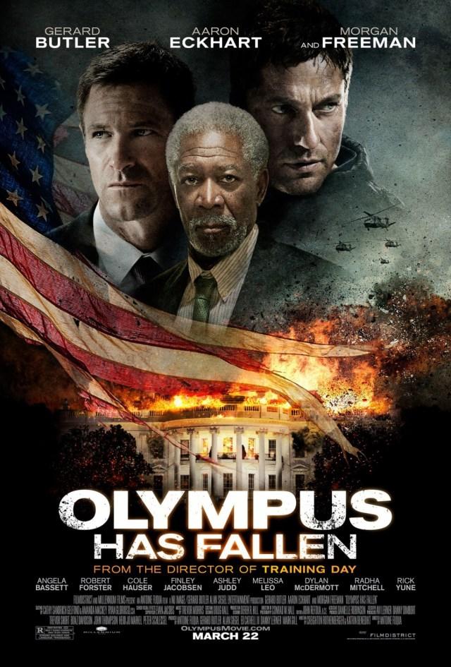 Póster de Olympus Has Fallen (2013). Imagen: impawards.com