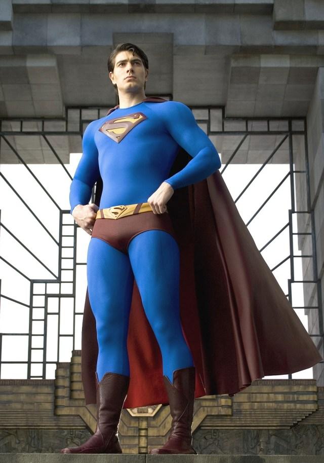 Superman (Brandon Routh) en Superman Returns (2006). Imagen: fanart.tv
