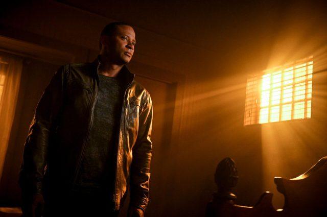 John Diggle/Spartan (David Ramsey) en un episodio de la temporada 8 de Arrow (2012-2020). Imagen: Sergei Bachlakov/The CW