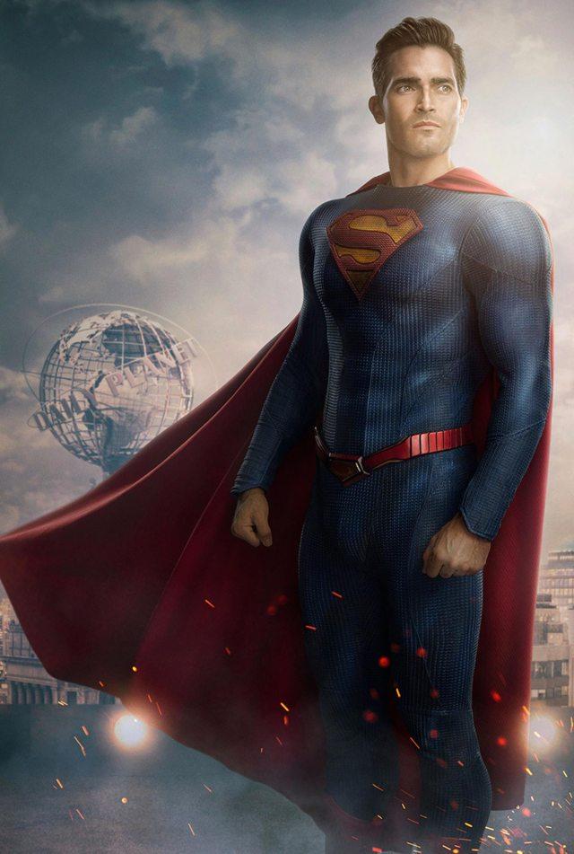 El nuevo traje de Superman (Tyler Hoechlin) en Superman & Lois. Imagen: Nino Muñoz/The CW