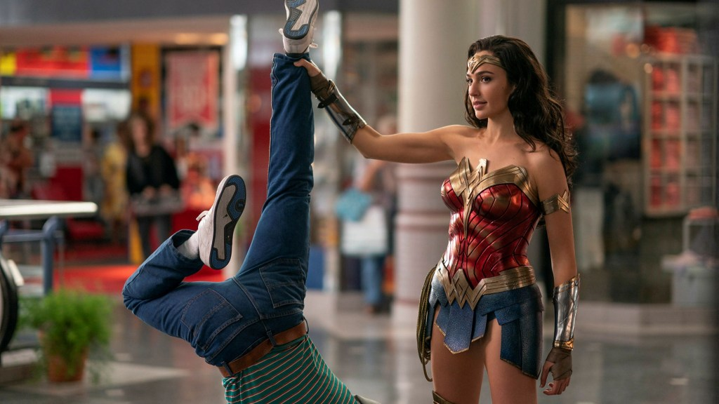Wonder Woman (Gal Gadot) en Wonder Woman 1984 (2020). Imagen: Warner Bros. Pictures