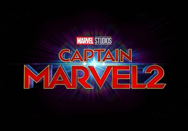 Logotipo de Captain Marvel 2 (2022). Imagen: Marvel.com