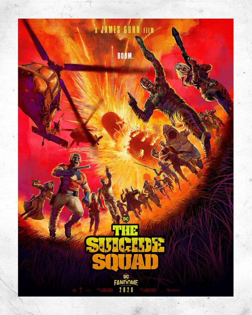 Póster de The Suicide Squad (2021). Imagen: dccomics.com