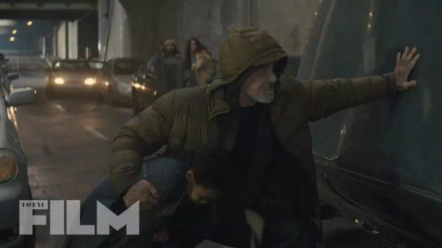 Sylvester Stallone es Stanley Kominski en Samaritan (2021). Imagen: Total Film