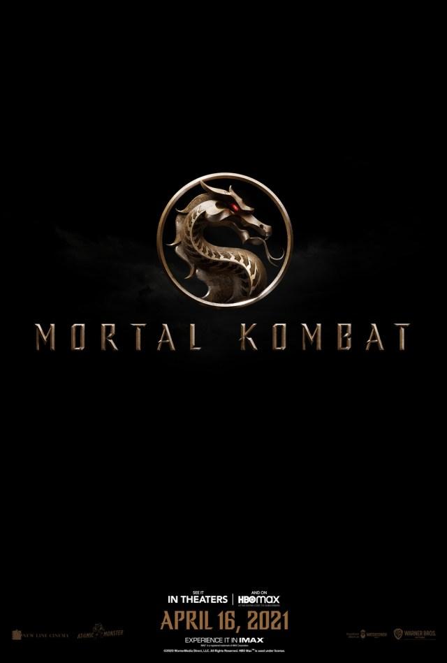 Póster de Mortal Kombat (2021). Imagen: impawards.com