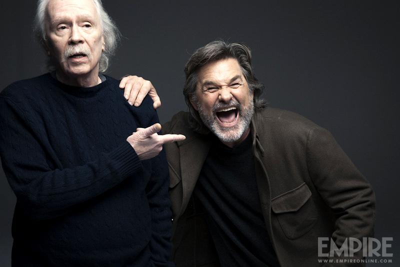 El director John Carpenter y Kurt Russell reunidos para la revista británica Empire (2013). Imagen: Austin Hargrave