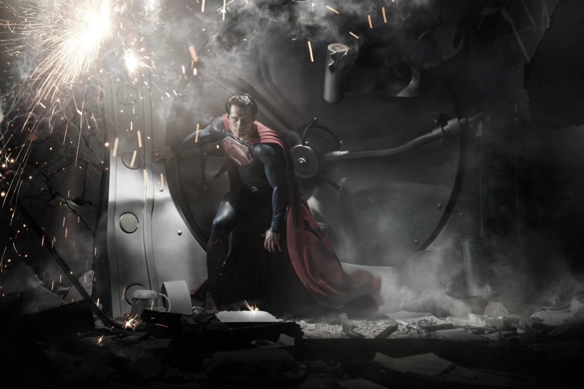 Superman (Henry Cavill) en Man of Steel (2013). Imagen: dccomics.com