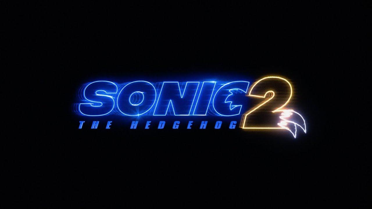 Logotipo de Sonic the Hedgehog 2 (2022). Imagen: Paramount Pictures