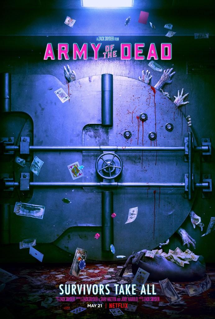 Póster de Army of the Dead (2021). Imagen: impawards.com