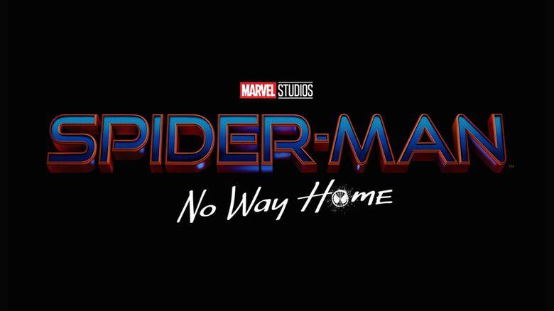 Logotipo de Spider-Man: No Way Home (2021). Imagen: Marvel.com