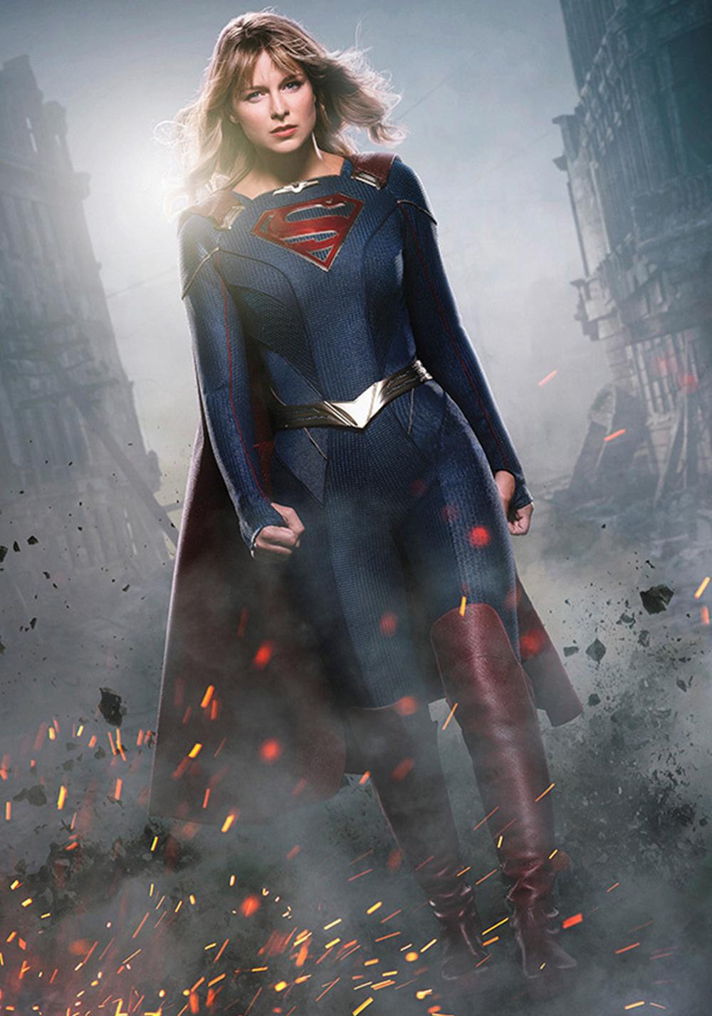 Kara Zor-El/Kara Danvers/Supergirl (Melissa Benoist) en la temporada 5 de Supergirl. Imagen: fanart.tv