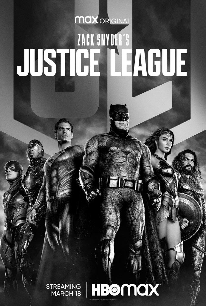 Arte promocional de Zack Snyder's Justice League (2021). Imagen: Zack Snyder's Justice League Twitter (@snydercut).