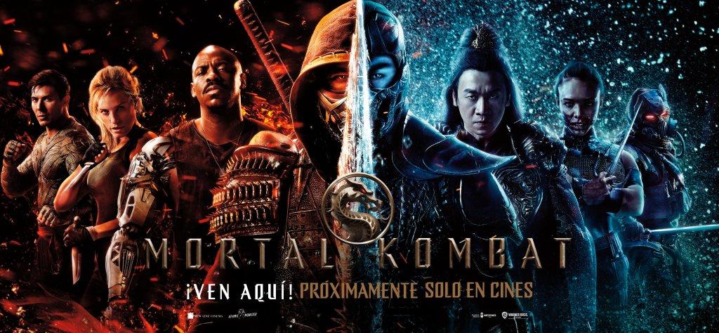 Póster en español de Mortal Kombat (2021). Imagen: WB Pictures Latam Twitter (@WBPicturesLatam).