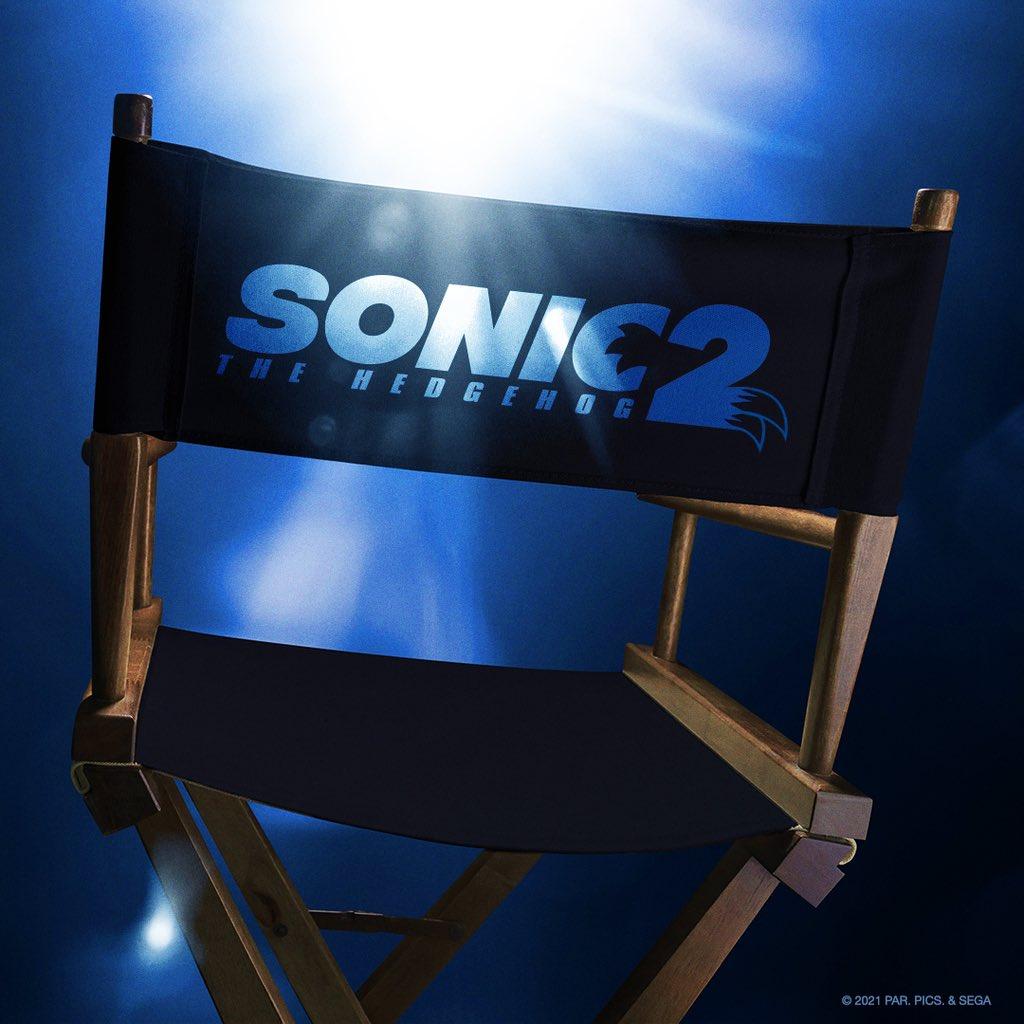 Sonic the Hedgehog 2 (2022) ya está filmándose. Imagen: Jeff Fowler Twitter (@fowltown).