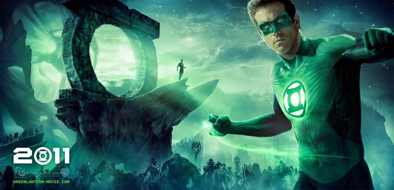 Green Lantern/Hal Jordan (Ryan Reynolds) en un póster de Green Lantern (2011). Imagen: impawards.com