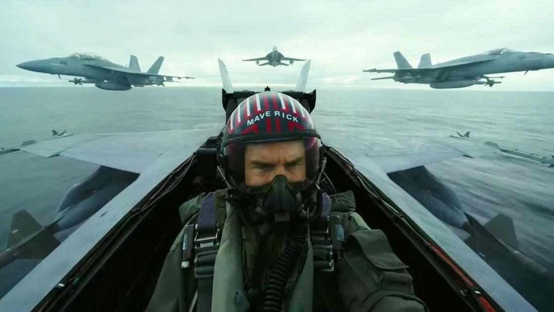 """Pete """"Maverick"""" Mitchell (Tom Cruise) en Top Gun: Maverick (2021). Imagen: listal.com"""