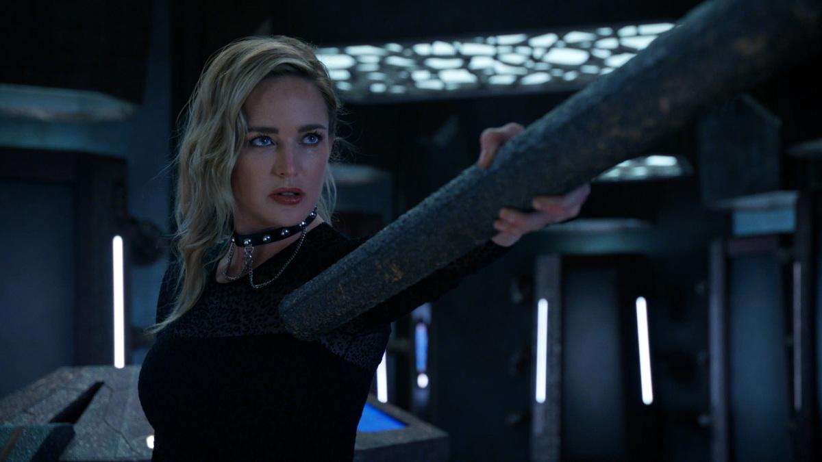 Sara Lance/White Canary (Caity Lotz) en el episodio 601 de DC's Legends of Tomorrow. Imagen: The CW