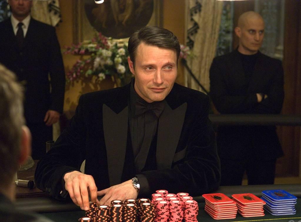 Mads Mikkelsen como Le Chiffre en Casino Royale (2006). Imagen: 007.com