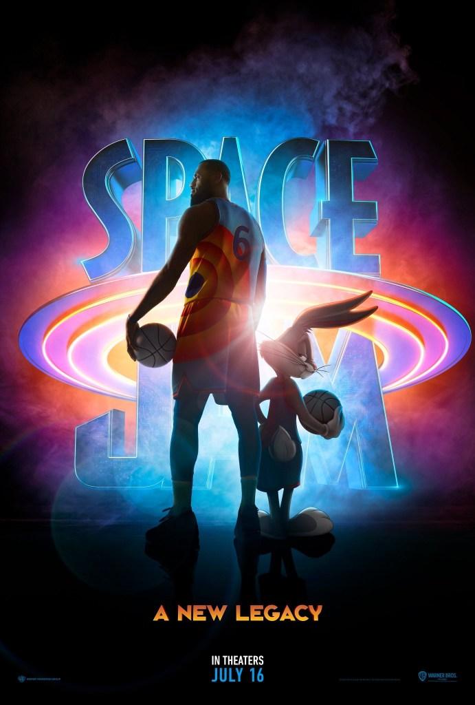 Póster de Space Jam: A New Legacy (2021). Imagen: impawards.com