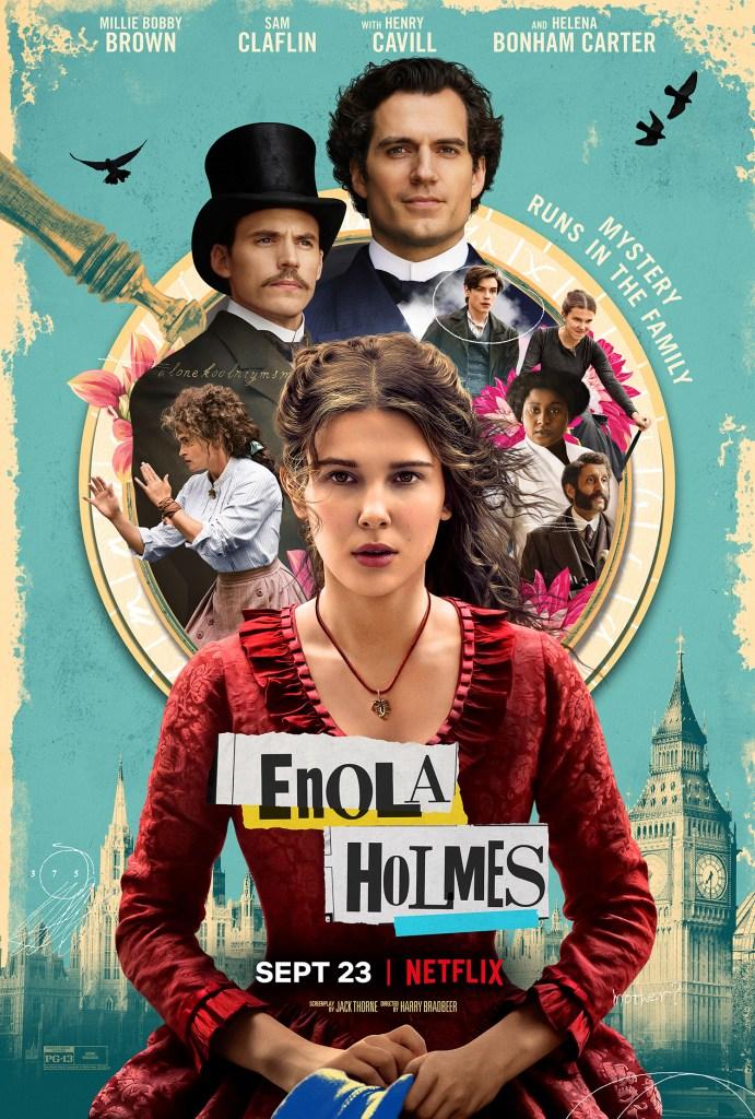 Póster de Enola Holmes (2020). Imagen: impawards.com