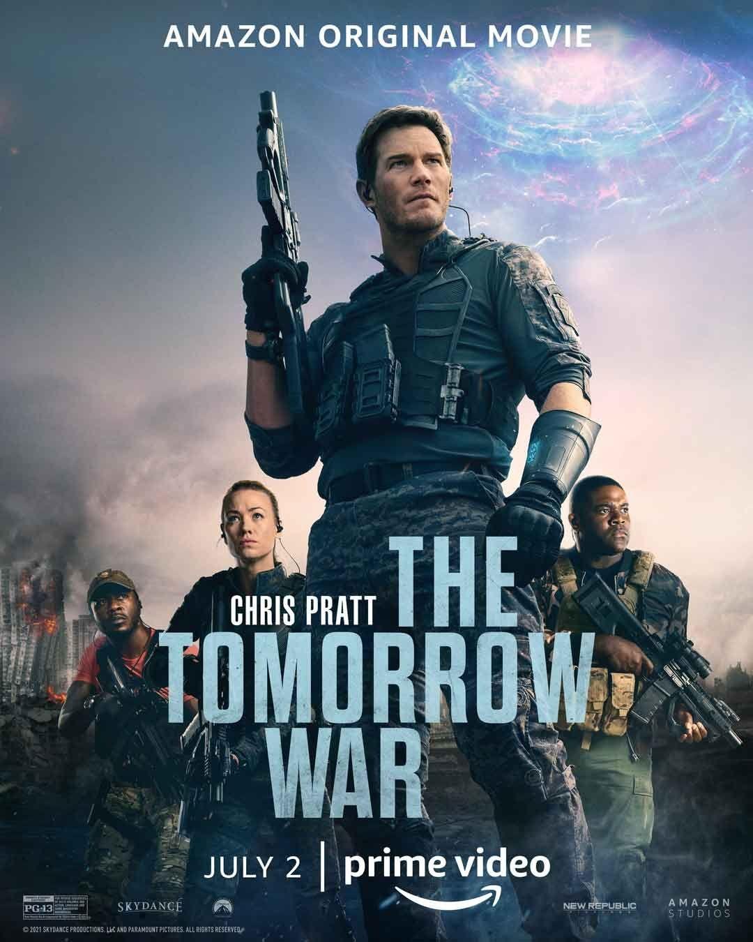 Póster promocional de The Tomorrow War (2021). Imagen: impawards.com