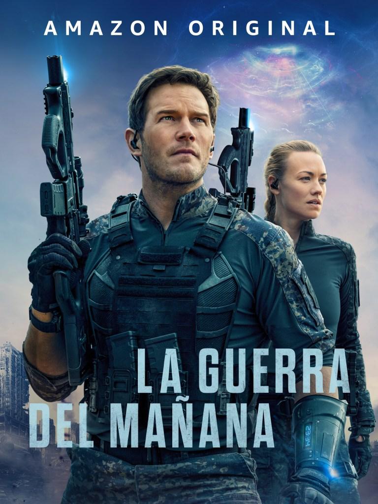 Arte promocional en español de The Tomorrow War (2021). Imagen: Amazon Prime Video Latinoamérica