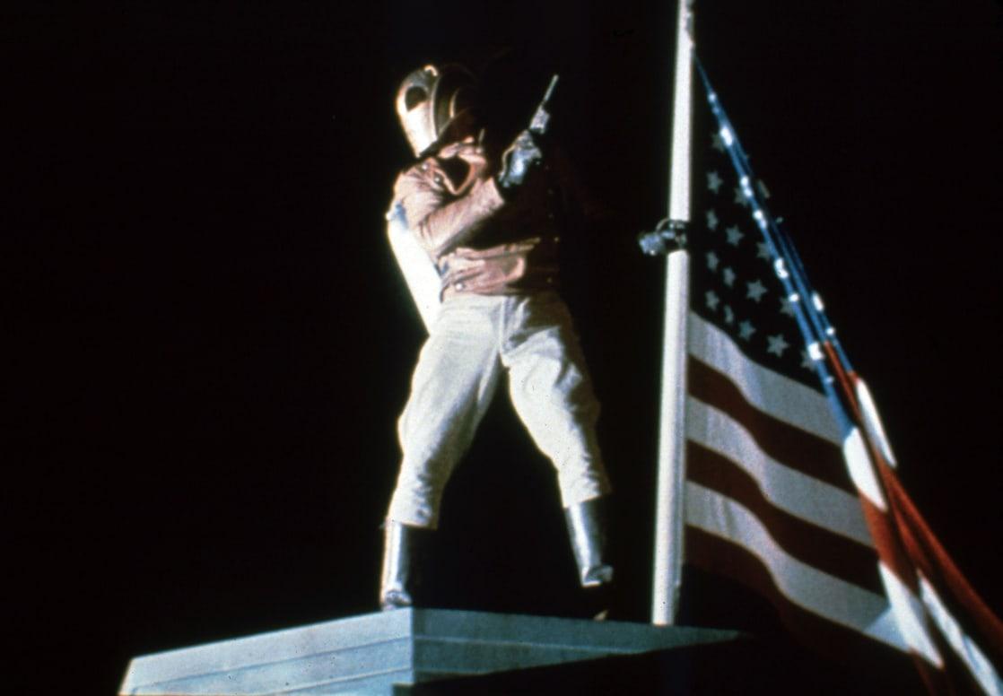 The Rocketeer/Cliff Secord (Billy Campbell) en The Rocketeer (1991). Imagen: listal.com