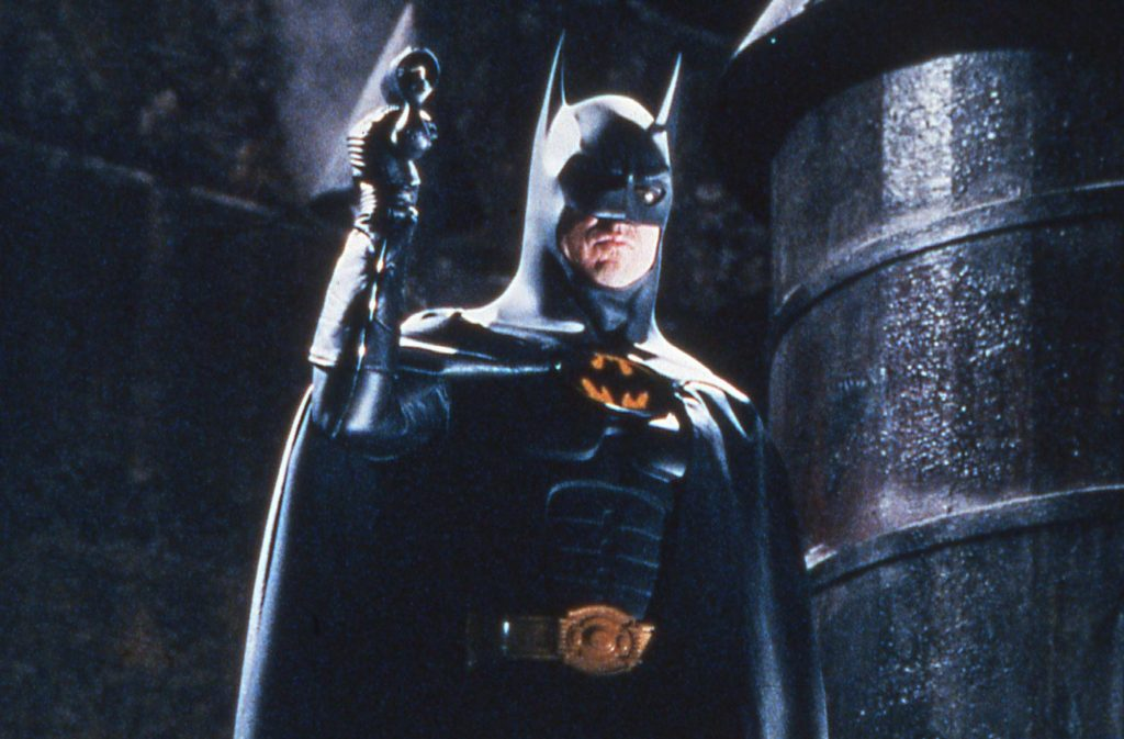 Batman/Bruce Wayne (Michael Keaton) en Batman Returns (1992). Imagen: Zade Rosenthal
