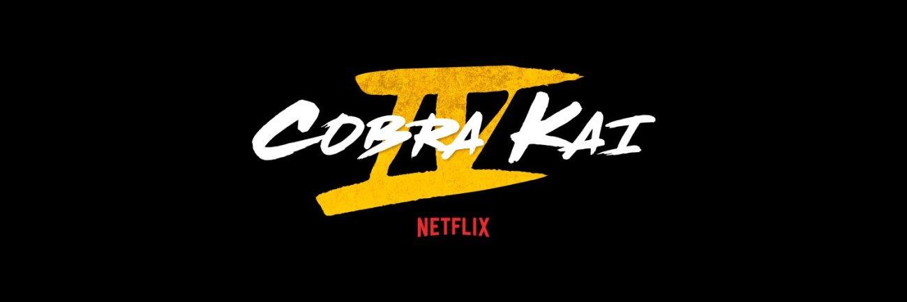 Logotipo de la temporada 4 de Cobra Kai en Netflix. Imagen: Cobra Kai Twitter (@CobraKaiSeries).