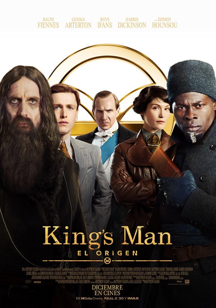 Póster en español de The King's Man (2021). Imagen: 20th Century Studios LA Twitter (@20thcenturyla).