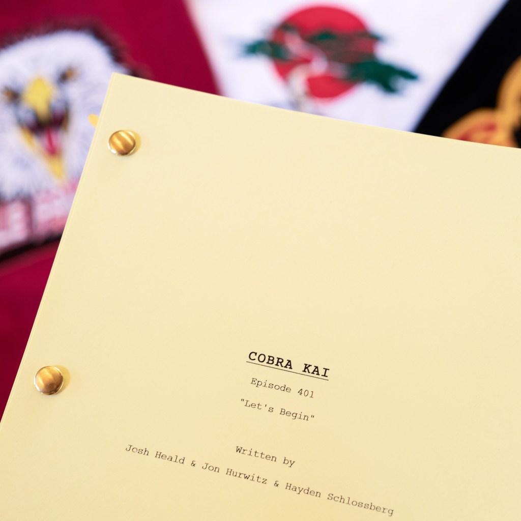 El episodio 401 de Cobra Kai se titulará Let's Begin. Imagen: Cobra Kai Twitter (@CobraKaiSeries).