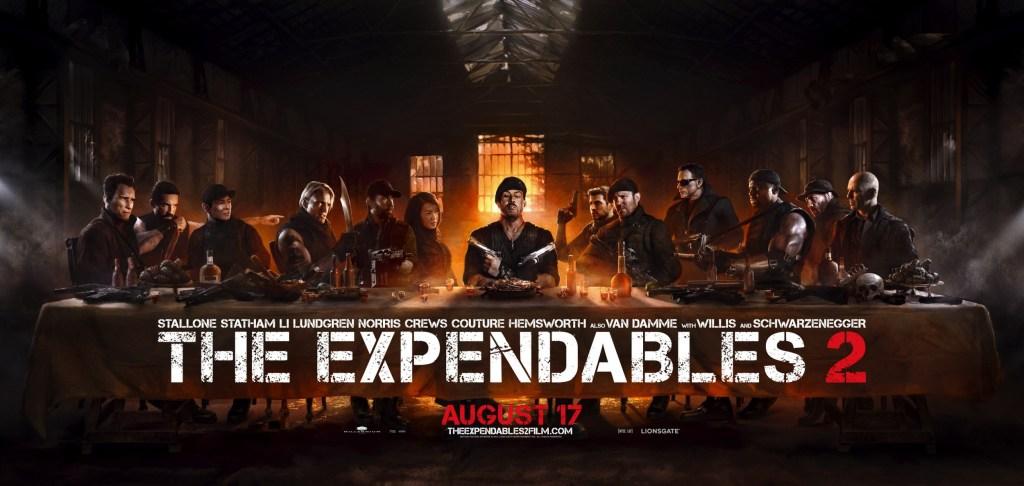 Póster de The Expendables 2 (2012). Imagen: impawards.com