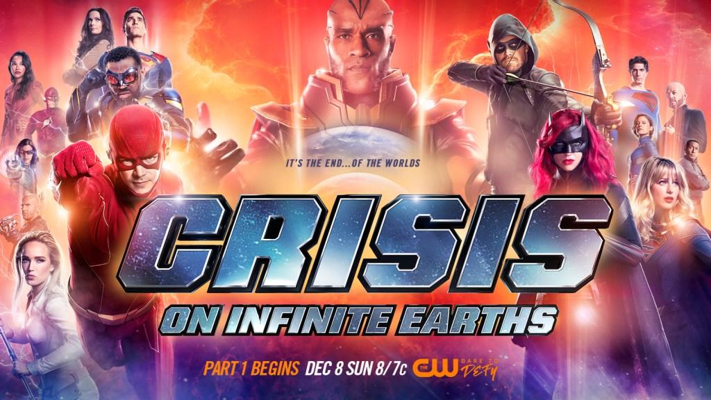 Crisis on Infinite Earths (2019-2020) fue el crossover más reciente en el Arrowverse. Imagen: impawards.com