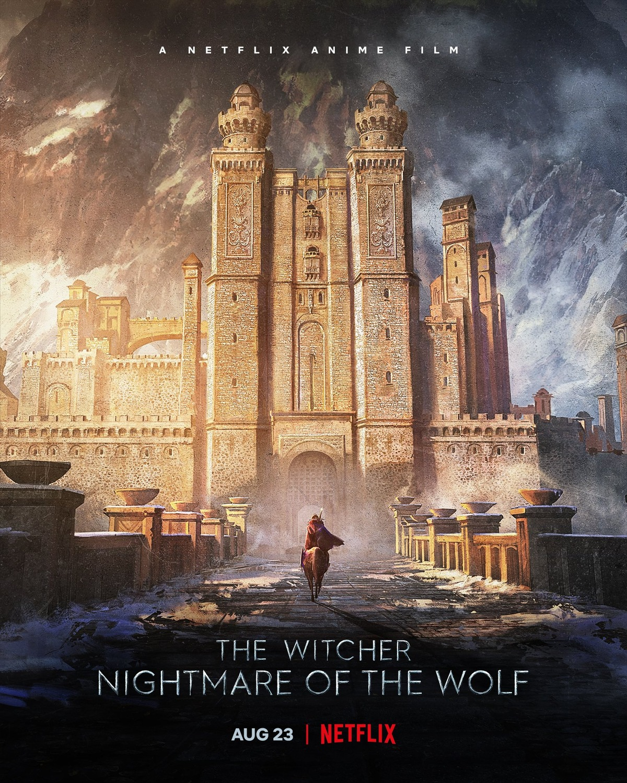 Póster de The Witcher: Nightmare of the Wolf (2021). Imagen: impawards.com