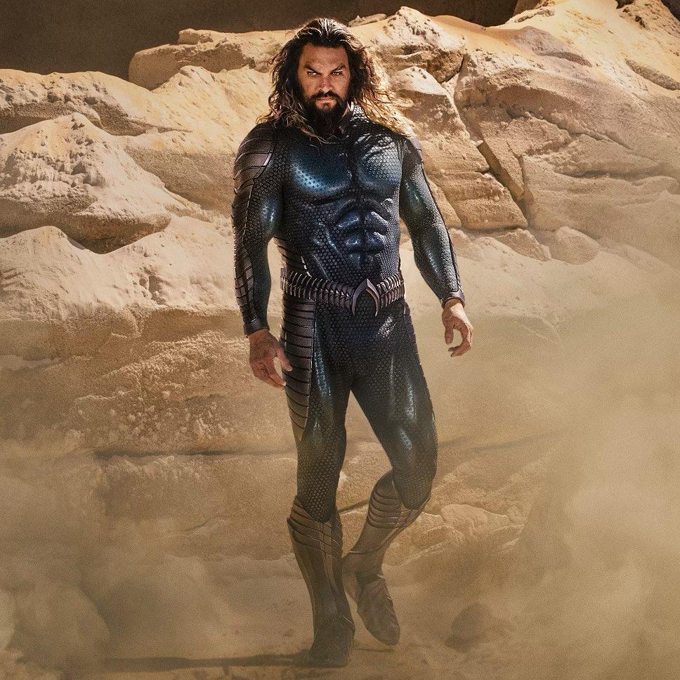 El traje de Aquaman (Jason Momoa) en Aquaman and the Lost Kingdom (2022). Imagen: Jason Momoa Instagram (@prideofgipsies).