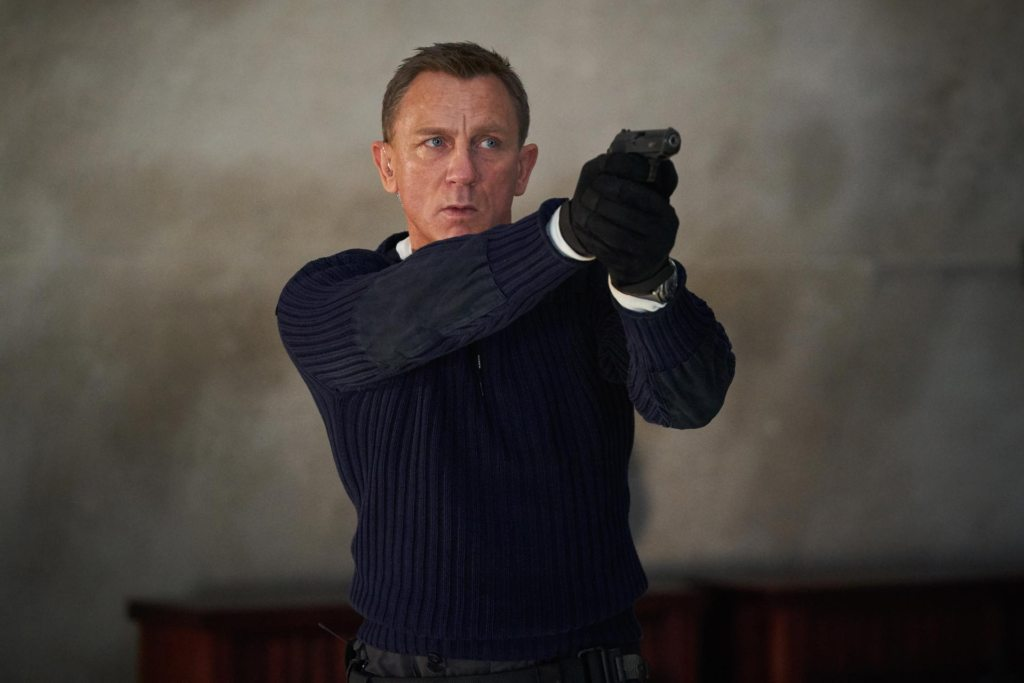 James Bond (Daniel Craig) en No Time to Die (2021). Imagen: 007.com